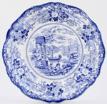 Plate c1840s