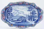 Dish Lymouth North Devon c1820