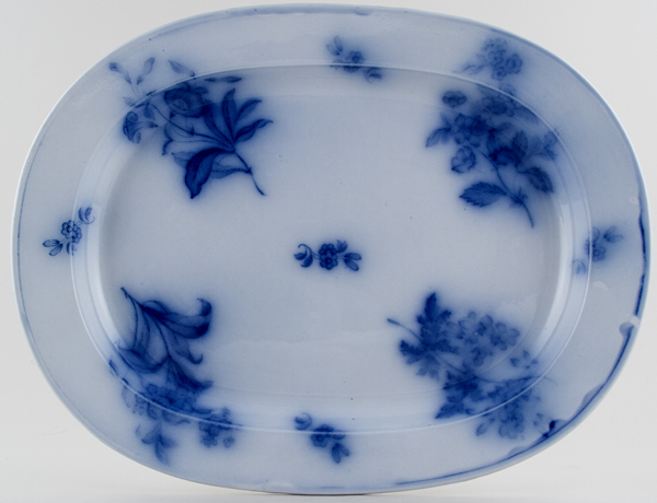 Unattributed Maker Unidentified Pattern Meat Dish or Platter c1880