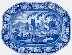 Meat Dish or Platter c1840