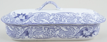 Unattributed Maker Unidentified Pattern lilac Toilet Box c1880