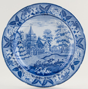 Davies Cockson and Wilson Country Church Plate c1825