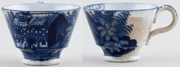 Unattributed Maker Progress of the Loaf Cup small Miller c1820s
