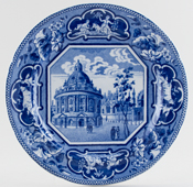 Plate Radcliffe Library Oxford Plate c1825