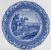 Spode Byron Views Plate c1850
