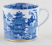 Unattributed Maker Two Temples Cup c1820