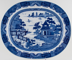 Meat Dish or Platter large c1800