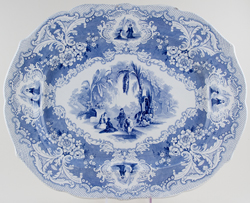Meat Dish or Platter large c1840