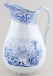 Unattributed Maker Unidentified Pattern Ewer c1870