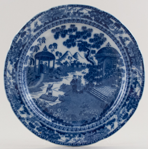 Unattributed Maker Chinese Raft Plate c1815