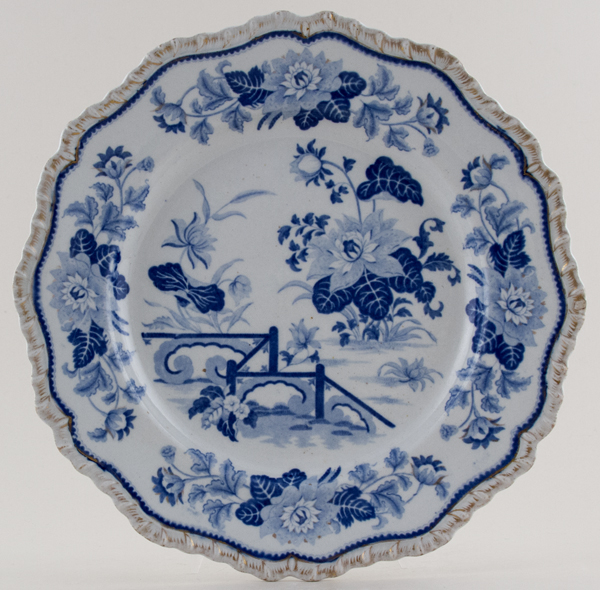 Hicks and Meigh Number 38 Plate c1820