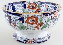 Unattributed Maker Amherst Japan colour Bowl footed c1880