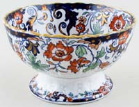 Unattributed Maker Amherst Japan colour Bowl footed c1880s