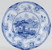 Davenport Unidentified Pattern Plate c1840