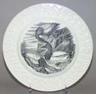 Plate Canvas Back Duck c1967