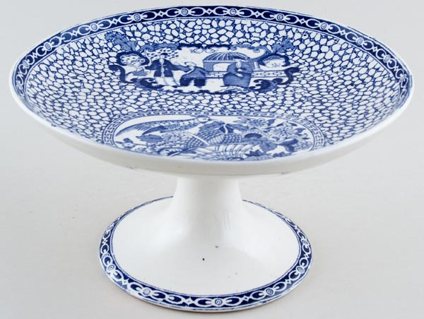 Adams Chinese Bird Cake Stand c1930s