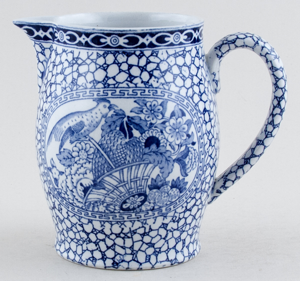 Adams Chinese Bird Jug or Pitcher c1930