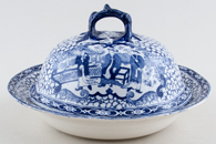Adams Chinese Bird Muffin Dish c1920s