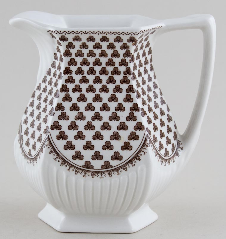 Adams Sharon brown Jug or Pitcher c1970s