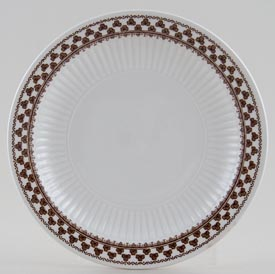Adams Sharon brown Plate c1970s