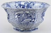 Bowl large footed C1930s
