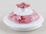 Adams English Scenic pink Coffee Pot lid c1950s