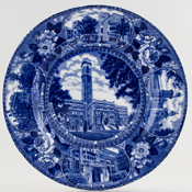 Adams American Commemorative Plate Vanderbilt University