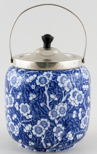 Adams Prunus Biscuit Barrel c1930s