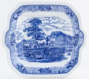Bread and Butter or Cake Plate c1950