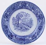 Ashworth Lake Plate c1870