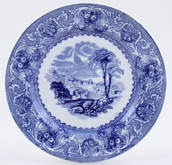 Ashworth Lake Plate c1890