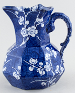 Ashworth Prunus Jug or Pitcher c1900