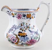 Ashworths Flying Bird colour Jug c1895