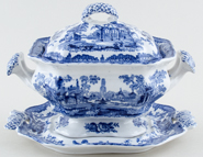 Ashworth Fountains Sauce Tureen c1920s