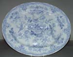 Meat Dish or Platter with tree and well c1870