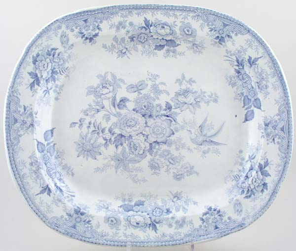 Wilson Asiatic Pheasants Meat Dish or Platter c1880
