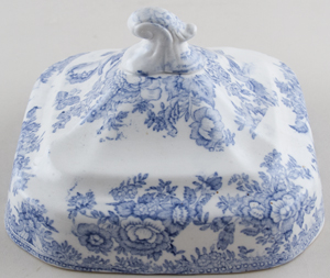 Vegetable Dish Cover c1900