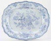 Blackhurst Asiatic Pheasants Meat Dish or Platter c1880