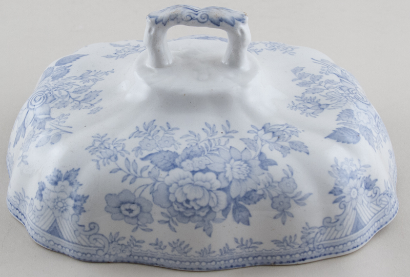 Unattributed Maker Asiatic Pheasants Vegetable Dish Cover c1880