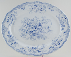 Wedgwood and Co Asiatic Pheasants Meat Dish or Platter c1890