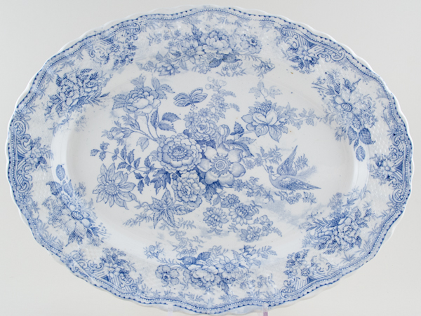 Spode Asiatic Pheasants Meat Dish or Platter c1895