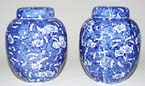 Ginger Jars Pair c1920s