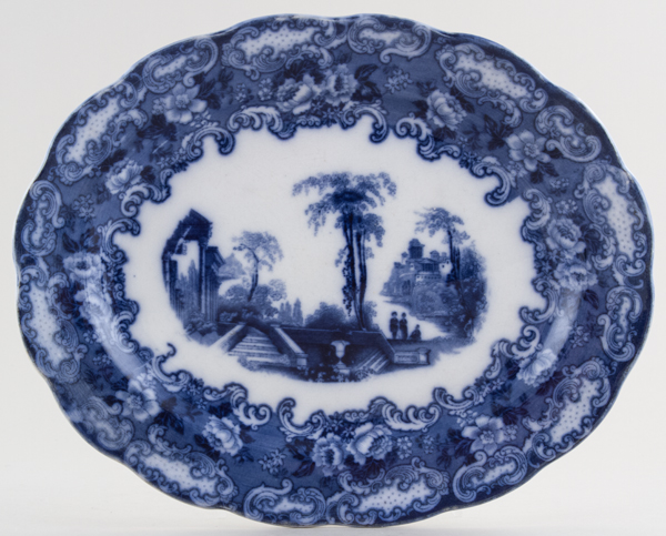 Bishop and Stonier Athena Meat Dish or Platter small c1930s