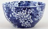 Bourne and Leigh May Blossom Sugar Bowl c1930s