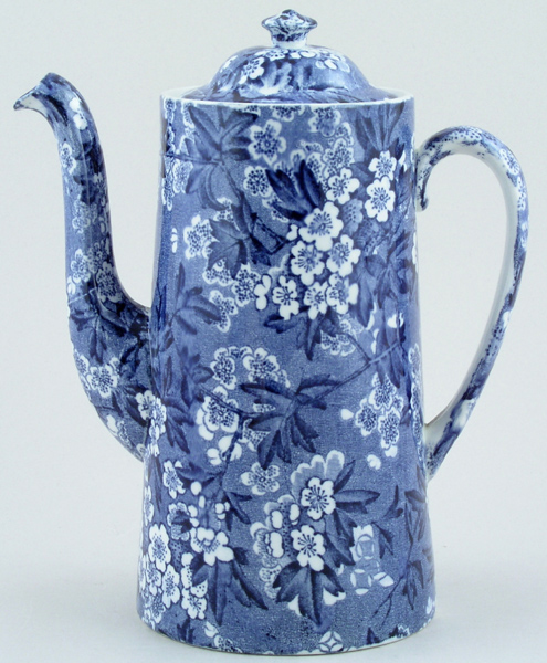 Bourne and Leigh May Blossom Coffee Pot c1930s