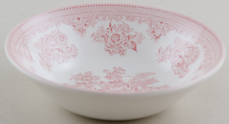 Burleigh Asiatic Pheasants pink Cereal or Dessert Bowl