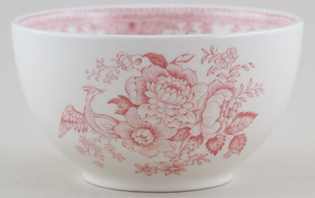 Burleigh Asiatic Pheasants pink Sugar Bowl large