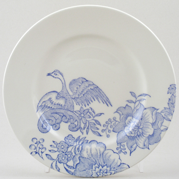 Burleigh Asiatic Pheasants Side or Cheese Plate Accent