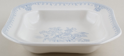 Burleigh Asiatic Pheasants Vegetable Dish Base