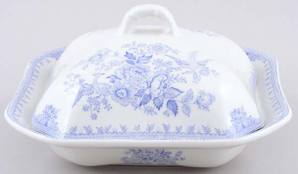 Burleigh Asiatic Pheasants Vegetable Dish with Cover
